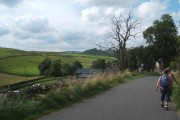 Walking into Earl Sterndale