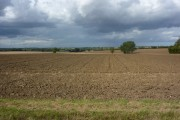 Open farmland towards Norfolk