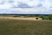 View from Kedington Hill toward Great Cornard