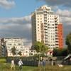 Thames Barrier Park: playground