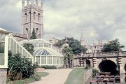 Magdalen Tower and Bridge - 1962