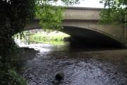 River Alyn and Rossett Bridge