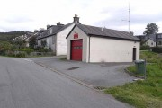 Isle of Raasay fire station