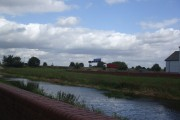 The Market Weighton Canal towards the M62