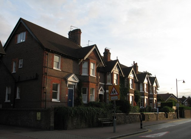 Terraced Houses, Tring High Street.
