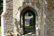 St Peter ad Vincula, Coveney - Passage under tower