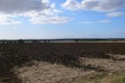 Ploughed field near Holme Green
