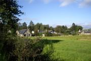 Houses in Finzean village