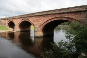 A road bridge over the River Annan