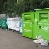 The Recycling area at the Tesco Store, Tring