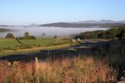 Morning Mist Over Newby Bridge
