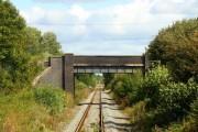 Bridge over the line at Northfield Farm