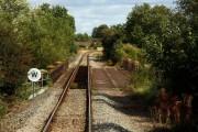 Railway bridge near Mill Farm