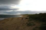 Beach near Lothbeg Point - looking south