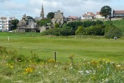 Alnmouth from the beach car park