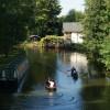 River Wey Navigation at Guildford, Surrey