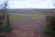 Farmland north of Hegdon Hill