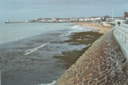 Margate beach and pier