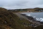 Port Henderson from Sron a' Mhuilt