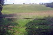Farmland north of the M50