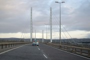 Approach to the Kessock Bridge