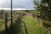 Start of links footpath to Dornoch