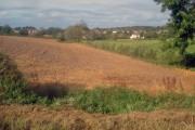 Farmland west of Thringstone