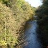 River Taff looking north, at Abercynon