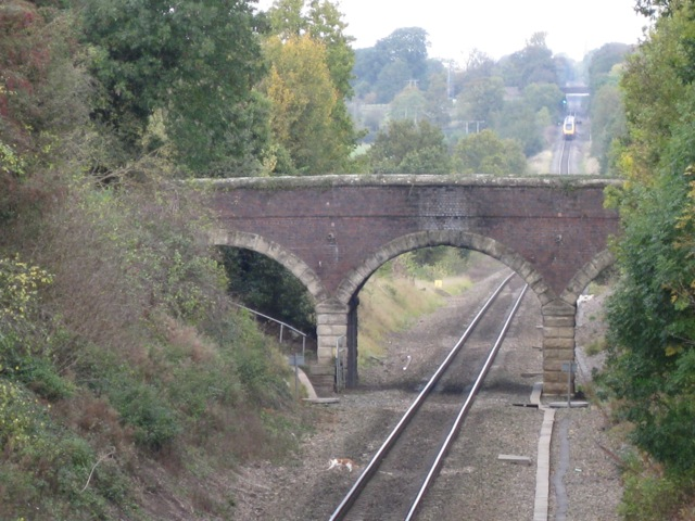 Sandy Lane crosses the railway, Old Milverton
