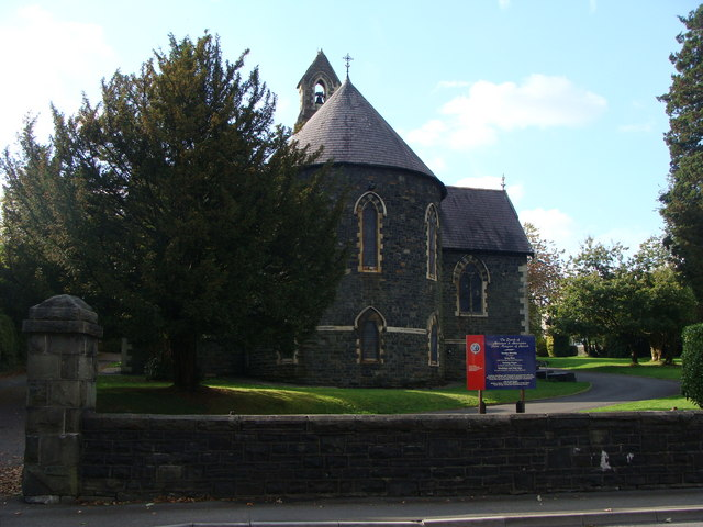The church of St Margaret of Antioch, Aberaman