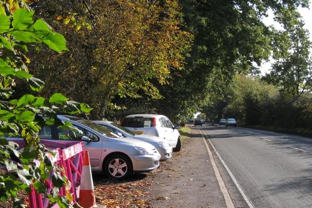 Kenilworth Road, Leamington Spa, with traffic survey