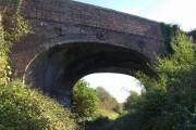 Bridge across former railway line, Ringwood