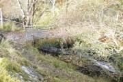 Small bridge over the Allt Mhaluidh