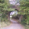 Railway bridge over Kit Hill