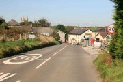 Entering the Moorland Village of St Cleer