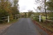 Worsham's humpback bridge over the Windrush