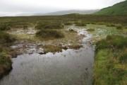 Bog pool in Glen Carron