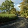 The B4220 near Bosbury