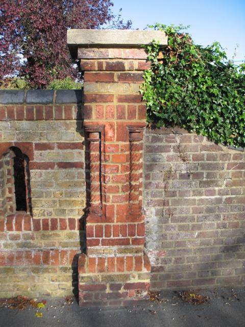 Victorian Brickwork, Station Road, Tring