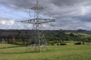 Pasture and pylon, Withington