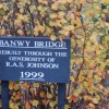 Banwy Bridge Sign