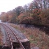 The Afon Banwy and the railway