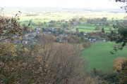 Bulkeley from the top of Bulkeley Hill