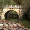 Magdalen Bridge with punts