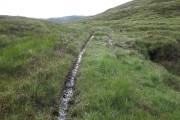 Vehicle tracks over the moor