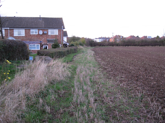 End of Oakridge Road, Lillington