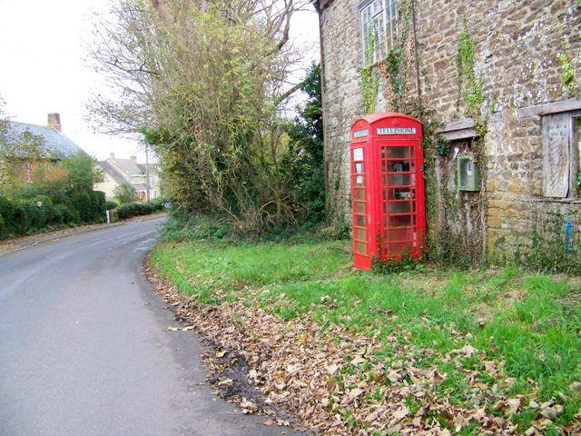 Telephone box, Ryme Intrinseca