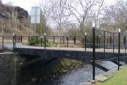 The cast iron Talbot Bridge, Maesteg
