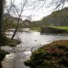 River Hodder above The Inn at Whitewell