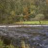 River Hodder below The Inn at Whitewell